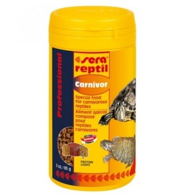 Sera Reptil Professional Carnivorous /за месоядни/-250гр