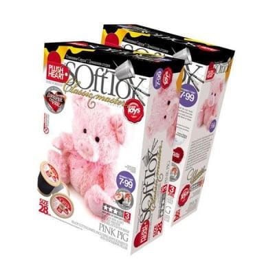 Креативен комплект PLUSH HEART «Pink pig»