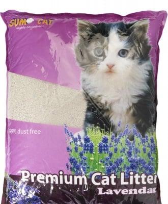 """SUMA CAT"" - Ароматизирана котешка тоалетна, различни аромати, 5l"