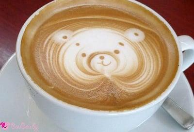 Сладко меченце в сутрешно кафенце