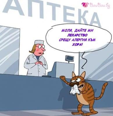 """""""Дайте ми лекарство срещу алергия към хора!"""""""