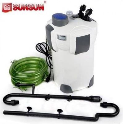"""""""SunSun HW-304B"""" - Професионален филтър с вградена UV лампа"""