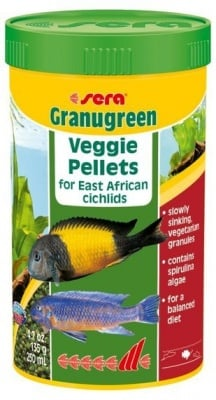 """Granugreen Veggie Pellets"" -  Храна за рибки"