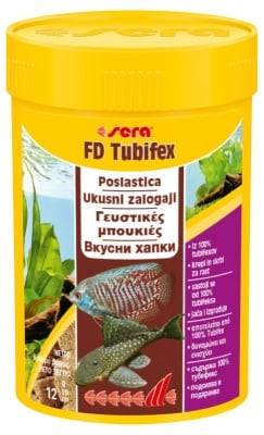 """""""FD tubifex"""" - Храна за рибки"""
