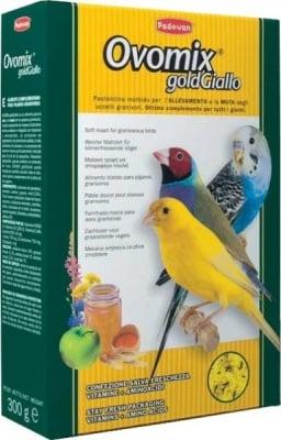 Ovomix gold Giallo - допълваща храна за вълнисти папагали, канарчета и екзотични птици