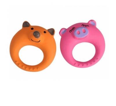 Играчка за куче силиконов пръстен 11см.