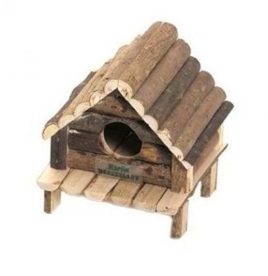 Дървена къщичка за дребни гризачи - Hudson от Karlie, Германия