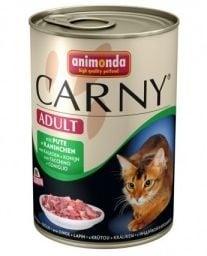 """""""Carny Adult"""" - Консерва за котки с пуйка и заек"""