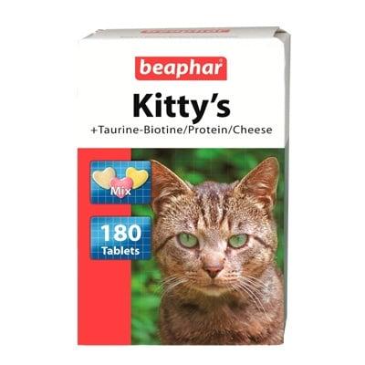"""Витамини """"Kittis Mix"""" - Котешки сърца с Биотин + Таурин"""