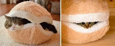 Легло за котки тип бургер