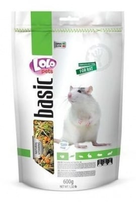 """""""LOLO PETS"""" - Пълноценна храна за плъхове"""