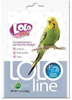 """""""LOLO PETS Lololine"""" - Перли с йод за вълнисти папагали"""