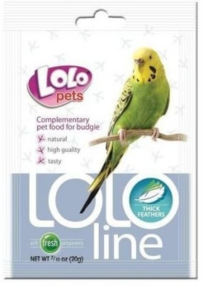 """LOLO PETS Lololine"" - Перли за оперение на вълнист папагал"