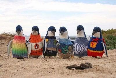 Пуловери за пингвини
