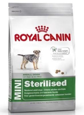 """""""Royal Canin Mini Sterilised Adult"""" – Храна за кастрирани кучета от дребните породи"""