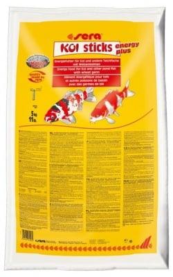 """KOI sticks energy plus"" - храна за Кои и други езерни риби"