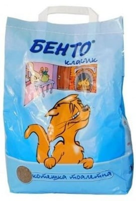 """""""БЕНТО"""" - Котешка тоалетна с класически пълнеж"""