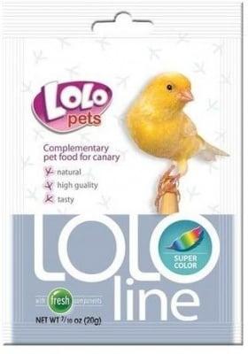 """""""LOLO PETS Vitaline Super Colour"""" - Допълваща храна за канарчета, подобрява цвета"""