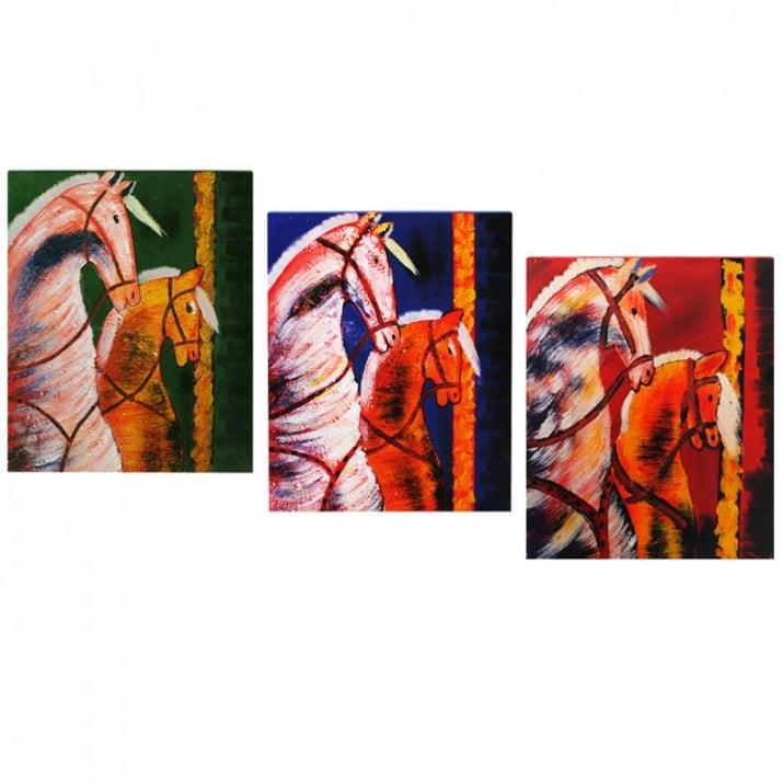 Картина на платно с коне
