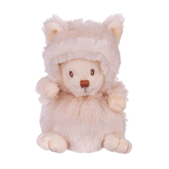 Плюшенa играчка - бяло котенце