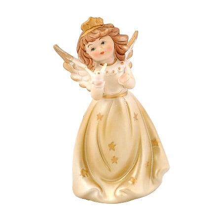 Ангелче порцелан с птица