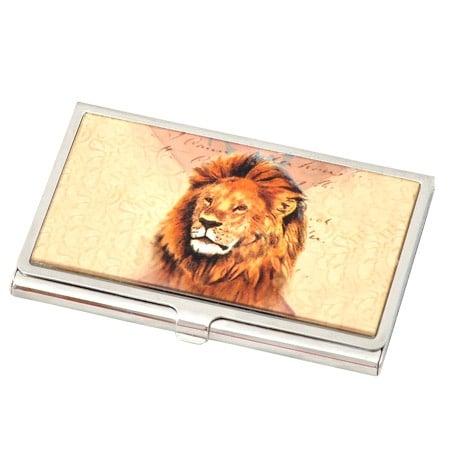 Визитник - лъв