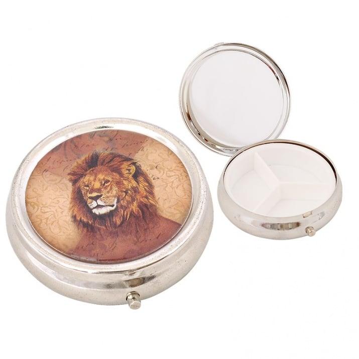 Кутия за хапчета - Лъв