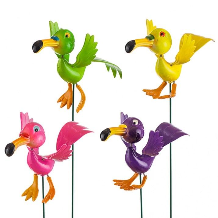 Красива декорация - папагал