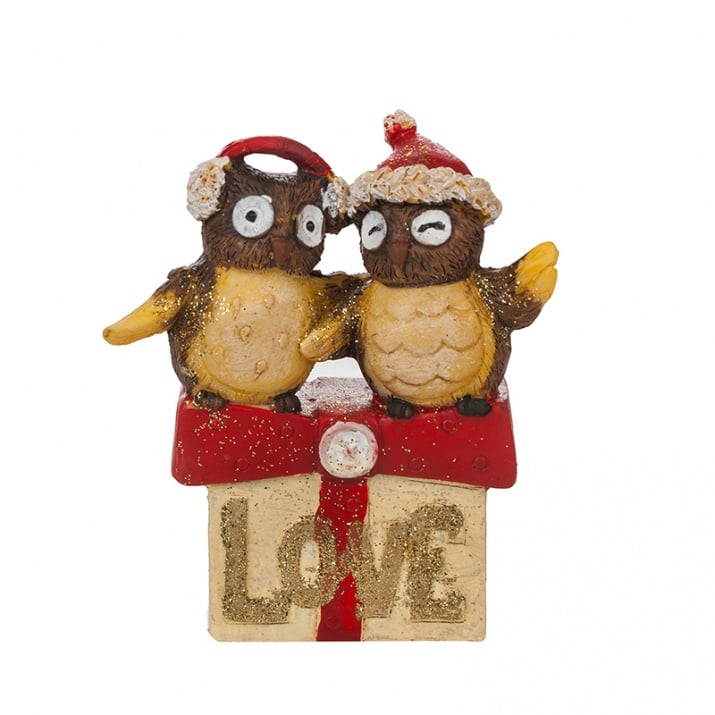 Коледни бухалчета - Love