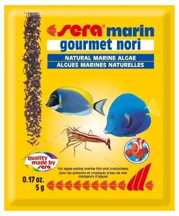"""Marin Gourmet Nori"" - Деликатес за рибки от морски макро водорасли"