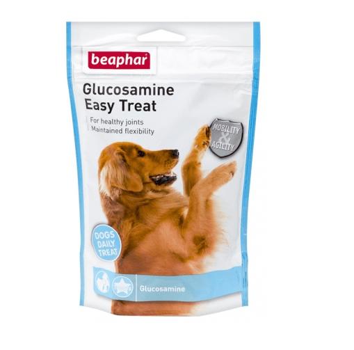Хапки за кучета Beaphar Joint Care Еasy Treat с пуешко и глюкозамин при ставни проблеми, 150 гр