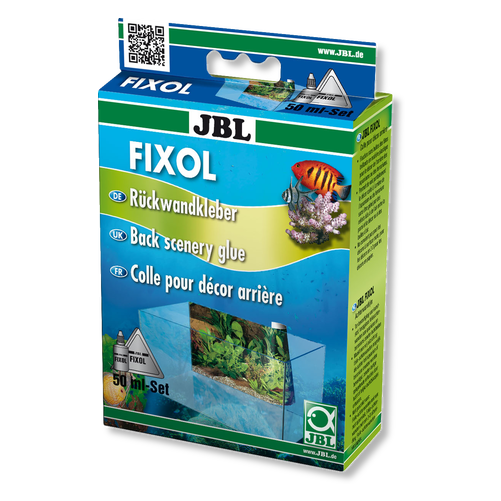 JBL FIXOL - Лепило за фон за аквариуми 50 мл