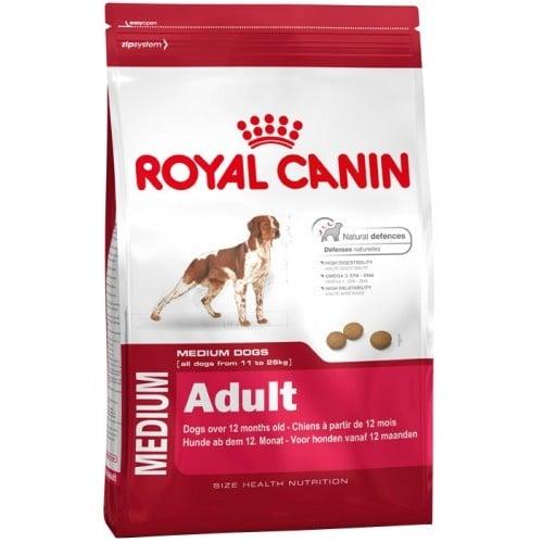 """""""Мedium Аdult"""" - Храна за кучета от средни породи над 12 месеца 4кг. Royal Canin medium adult"""