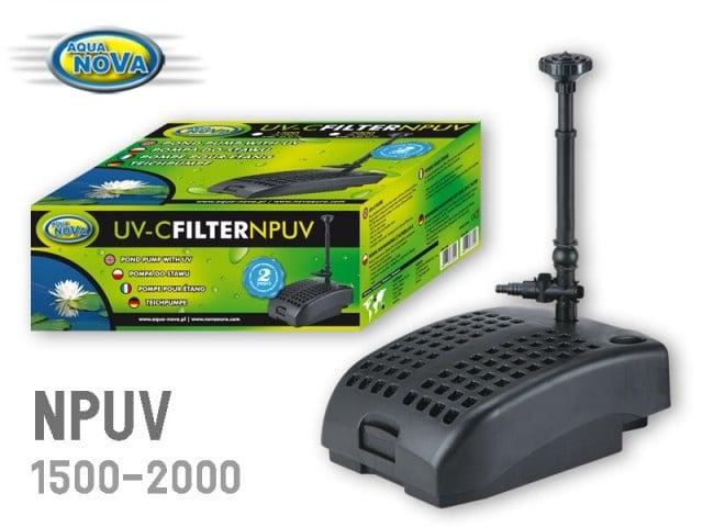Водна помпа 1500л/ч Aqua Nova  NPUV-1500