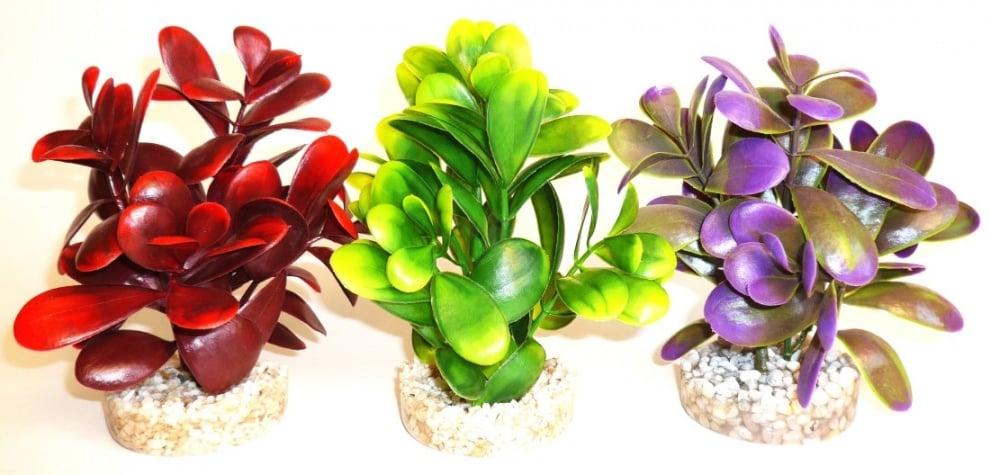 """Peeble Plant"" - Изкуствено растение за аквариум"