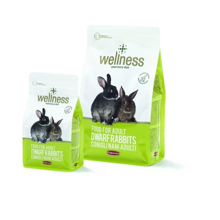 Wellness Adult Премиум храна за мини зайци 1 кг; 3.00 кг