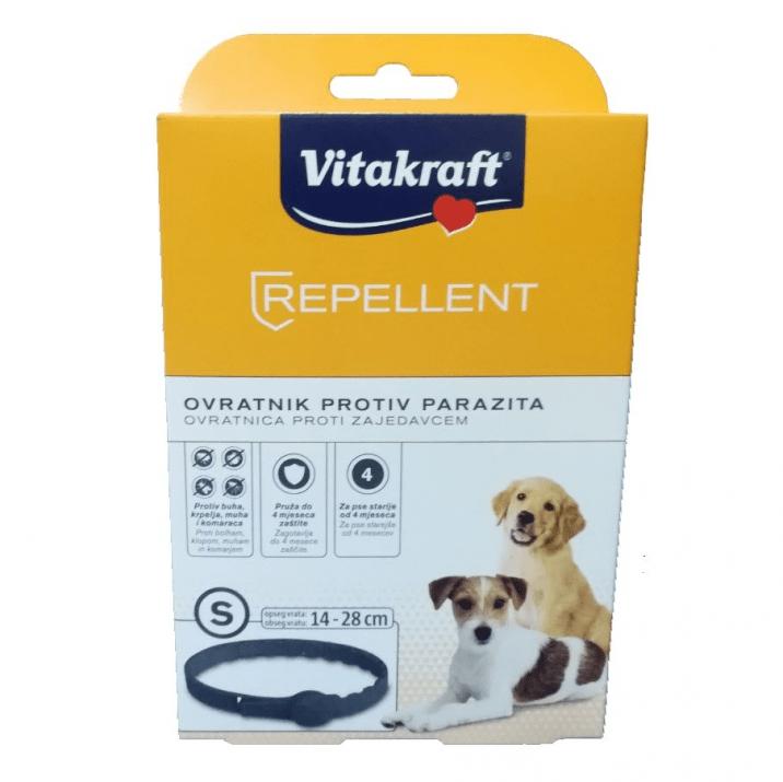 Противопаразитна каишка за кучета от дребни породи или подрастващи от средни породи Vitakraft, 35см