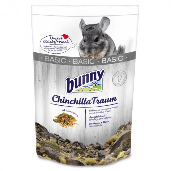 Храна за чинчили Bunny BASIC, три разфасовки