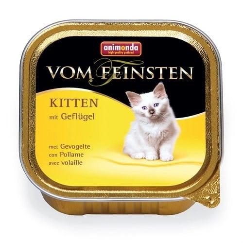 Пастет за малки котета Von Feinsten, 100гр от Animonda Германия - различни вкусове