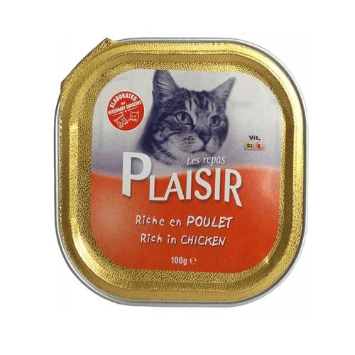Пастет за котки Plaisir - различни вкусове