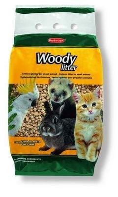 Woody litter - Пресовани борови стърготини.