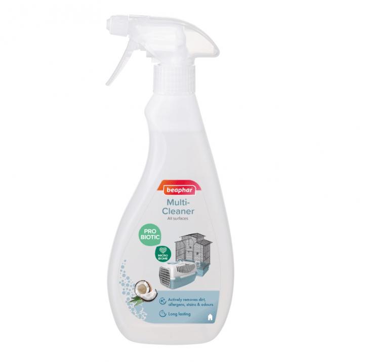 Спрей за дезинфекция с пробиотик Beaphar Multi-Cleaner Probiotic, 500мл