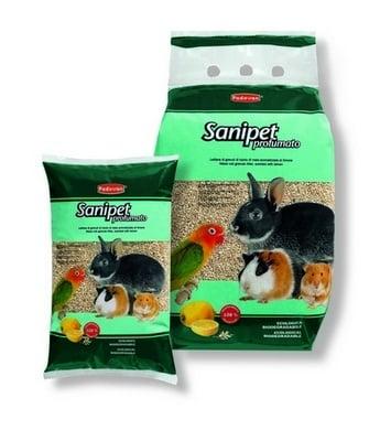 """""""Sanipet"""" - Ароматизирана тоалетна (гранули) за гризачи и птици"""