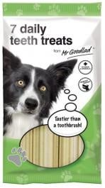 """""""Mr.Goodlad Daily Teeth"""" - снакс за зъбна хигиена за 7 дни"""