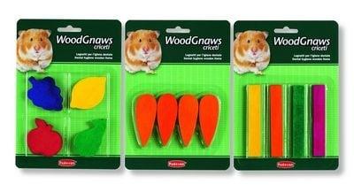 Дървена играчка за гризачи