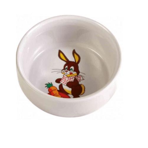 Керамична купа за зайче Trixie, 90мл./ø 8 см.