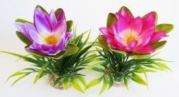"""""""Lotus Flower"""" - Изкуствено растение за аквариум"""