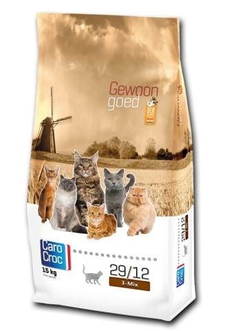 """""""CAROCROC CAT 3 - MIX"""" - Храна за зрели котки от 1 до 8 години - 2 кг."""