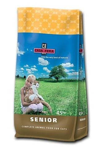 """""""CASA-FERA SENIOR"""" - Храна за възрастни котки - 1.5 кг."""