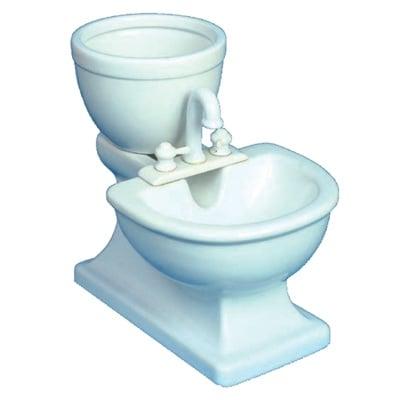 """""""Trixie"""" - Хранилка под формата на тоалетна чиния"""